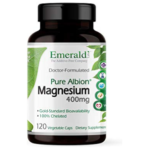 Emerald Labs Magnesium 400mg (Pure Albion) Gold Standard Bioavailability