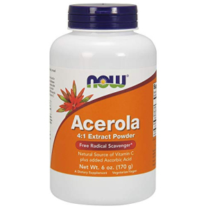 Now Acerola 4:1 Extract Powder 6-Ounce