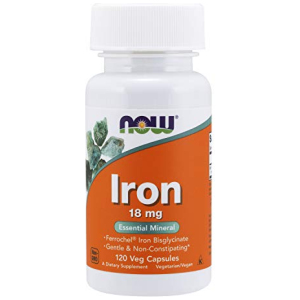 Now Iron 18 mg Non-Constipating