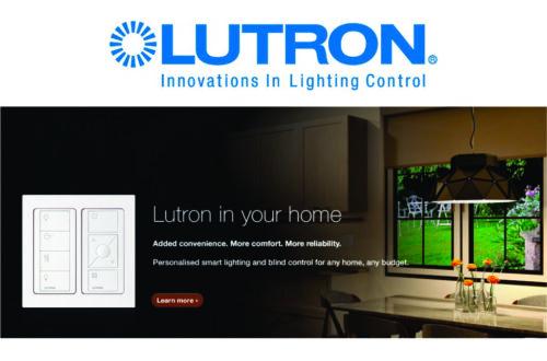 lutron lighting