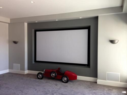 "Home Theater 133"" Screen"
