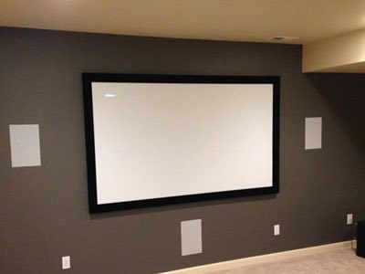 In Wall Home Theater System