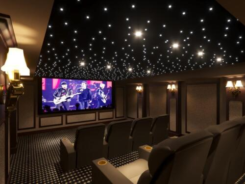 Home Theater Rendering
