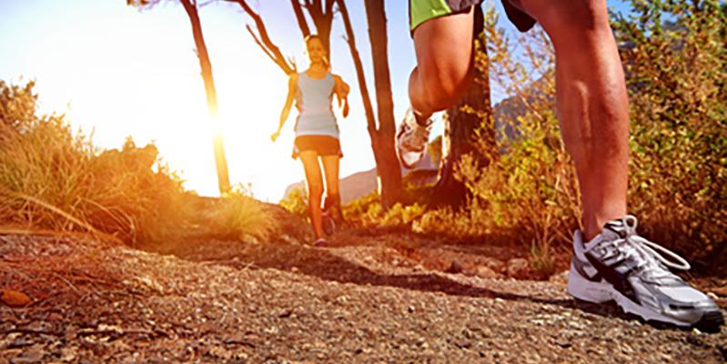 healthy trail running
