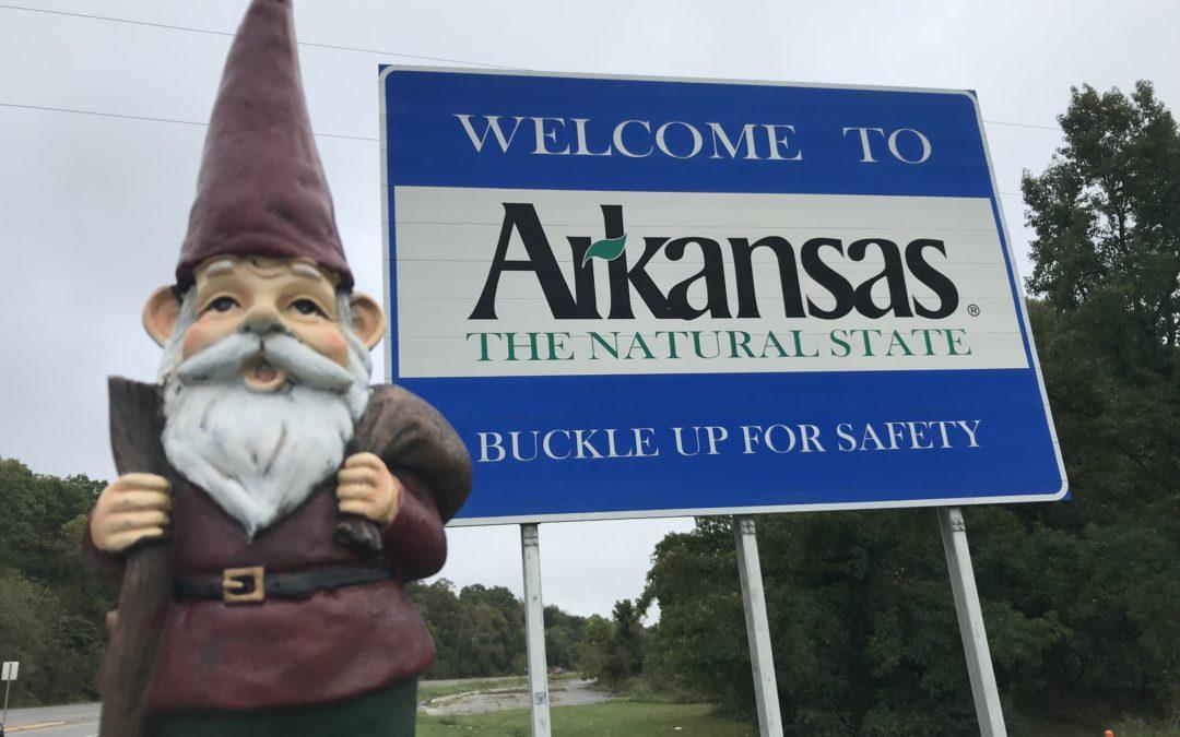 Hot Water in Arkansas