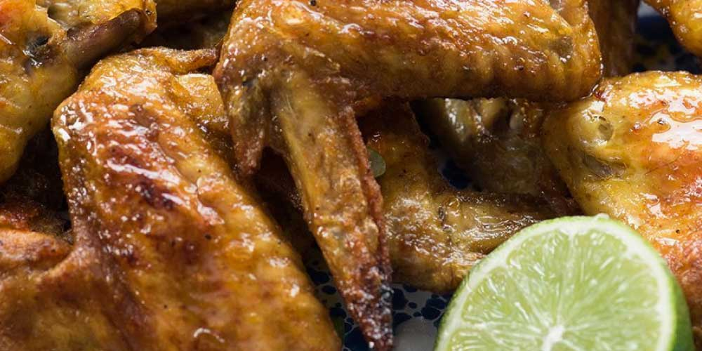 8 spice chicken wings