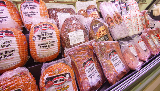 European deli meats