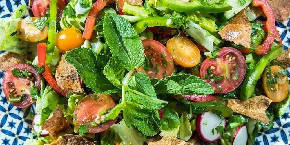 fattoush lebanese salad