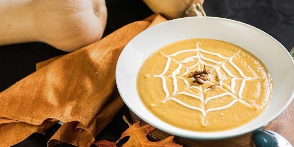 roasted butternut maple soup