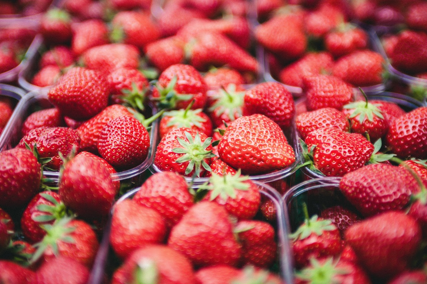 Fresh, Juicy Strawberries