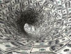 money-spiral