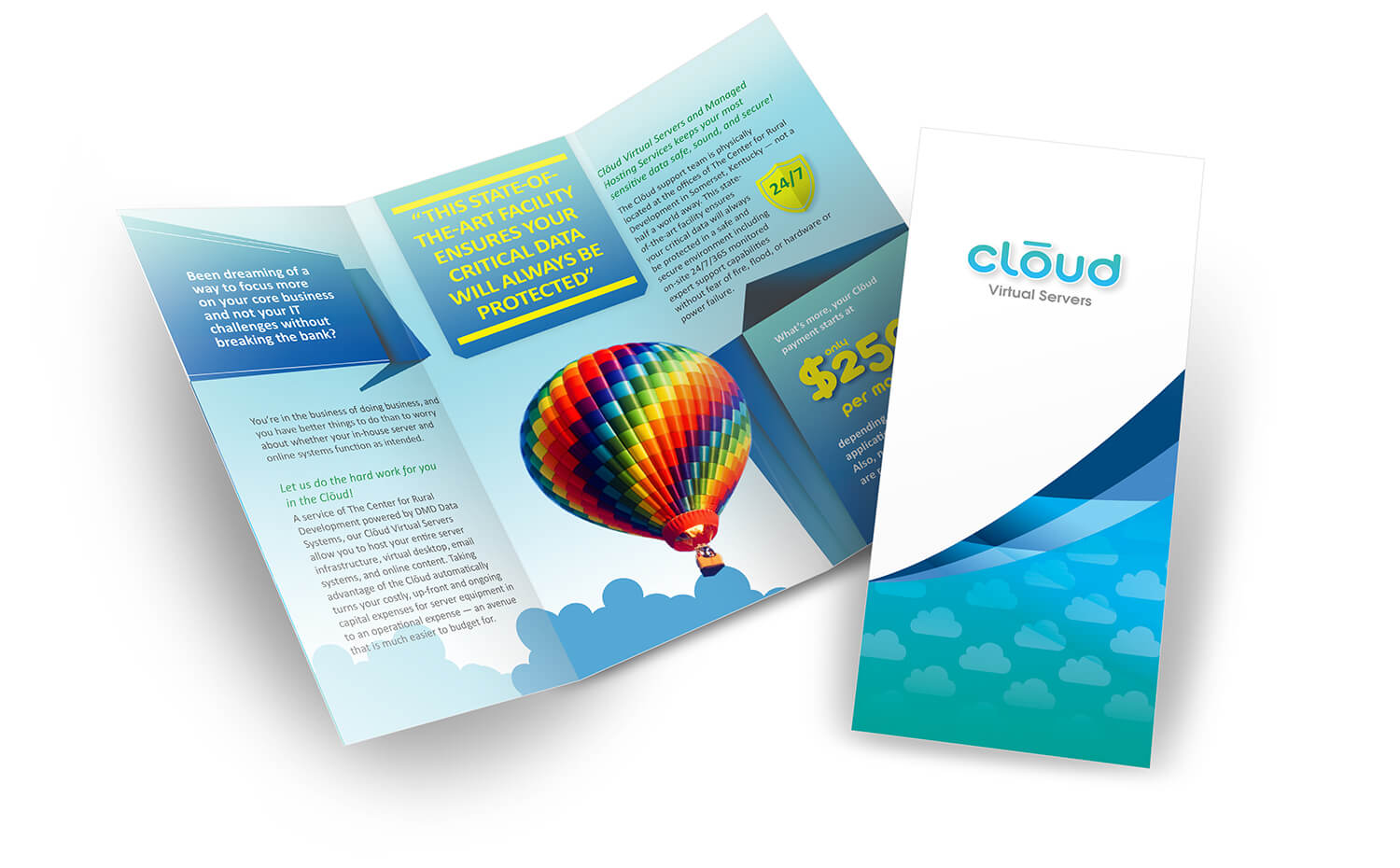 cloud virtual servers - Brochure
