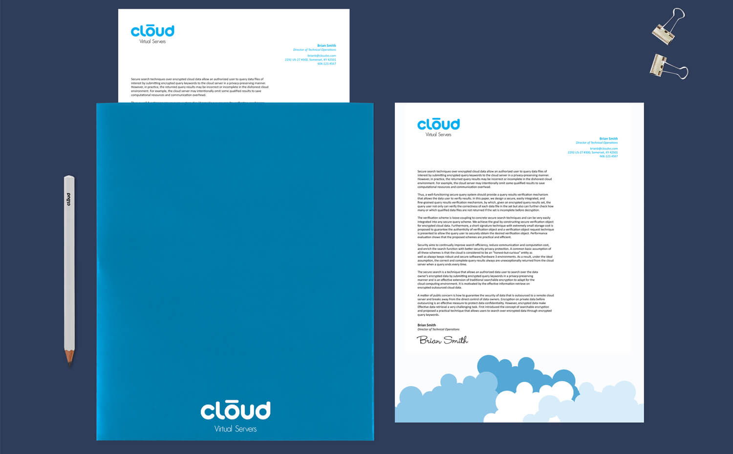 cloud virtual servers - Stationary Set