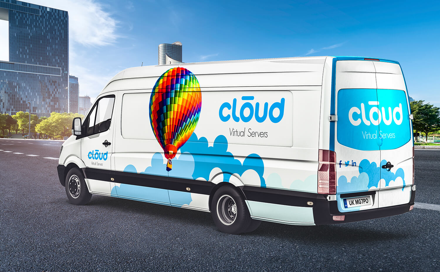 cloud virtual servers - Vehicle Wrap