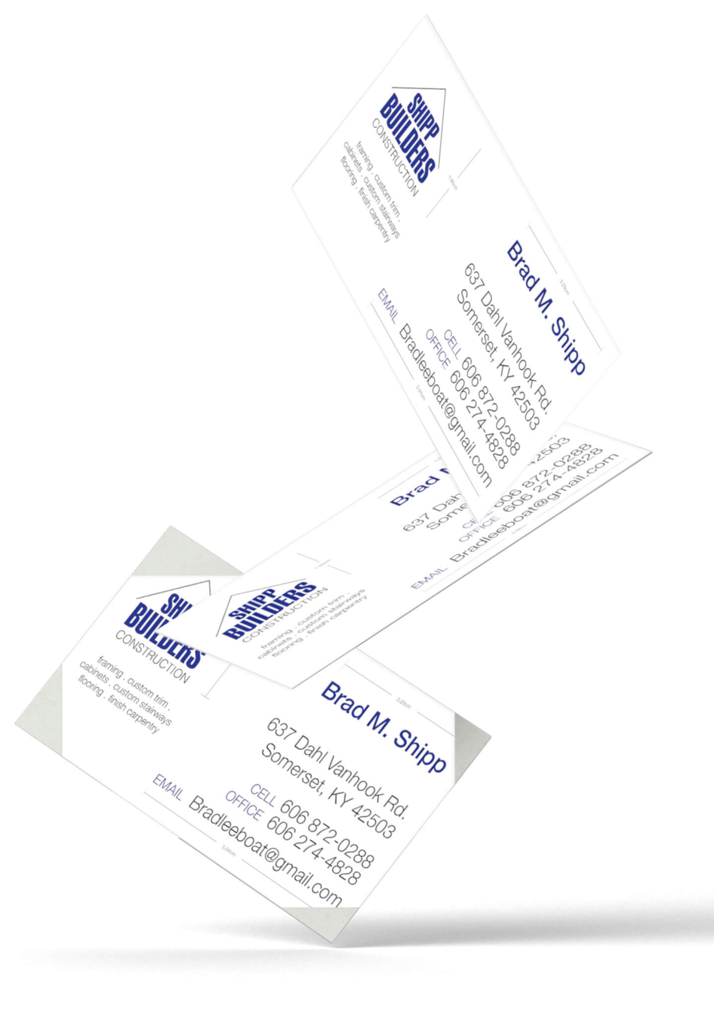 graphic design business cards