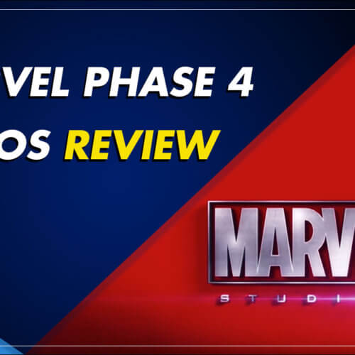 Marvel Phase 4 Logos Review