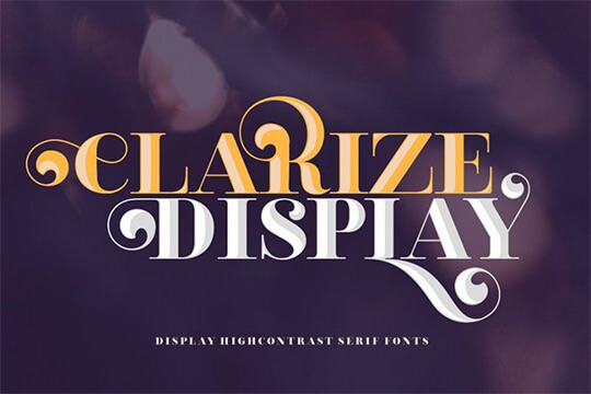 Clarize-Display-Font-Family-1