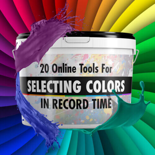 20 Online Tools for Selecting Color in Record Time