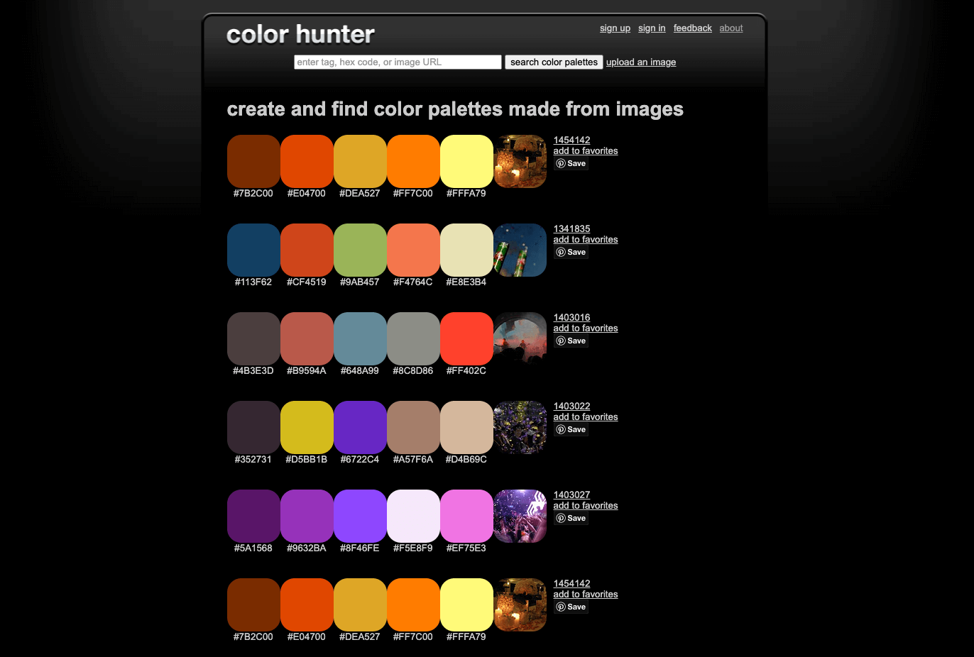 Color Hunter tool