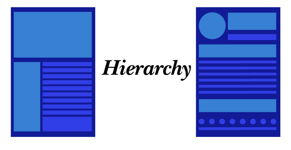 Laws of Graphic Design - Hierarchy
