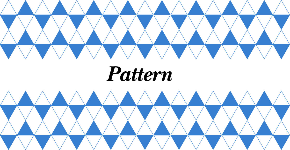 Laws of Graphic Design - Pattern