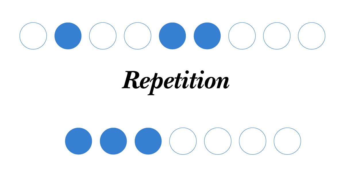 Law of Repetition