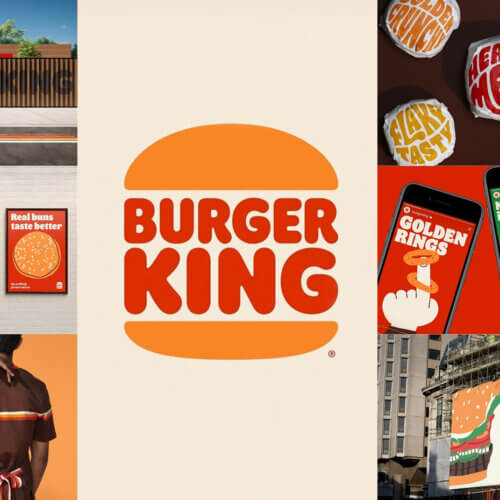 Burger King Logo And Packaging Design of 2021