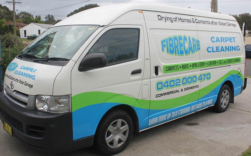 Fibrecare Van