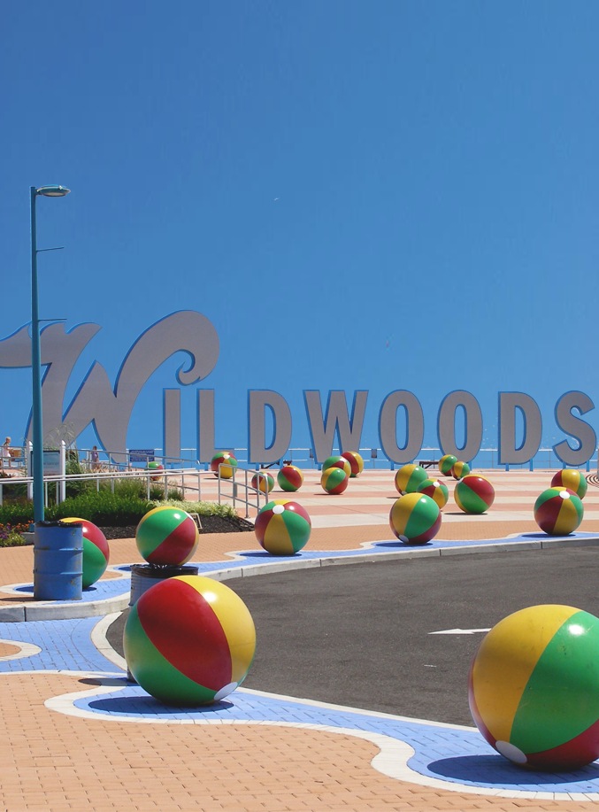 Esplanade wildwoods sign