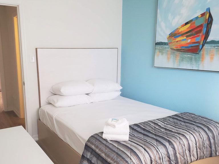 Esplanade Suites 2 bdr 2nd bedroom
