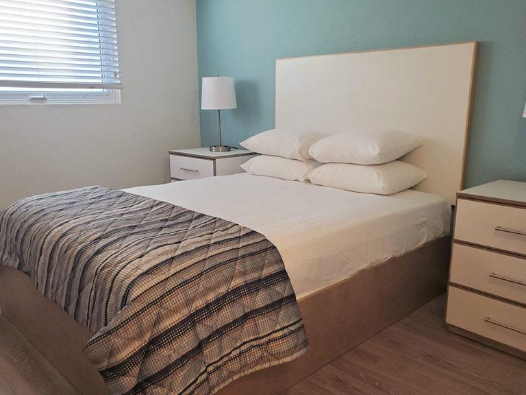 Esplanade Suites 2 bdr bedroom