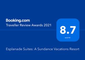 Esplanade Suites 2021 booking.com reward