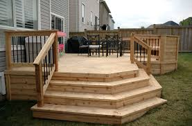 Unfinished Cedar Deck
