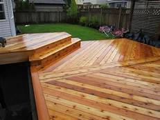 Cedar Deck of a HotTub