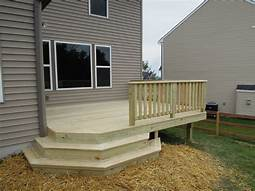 Accent Treated Deck