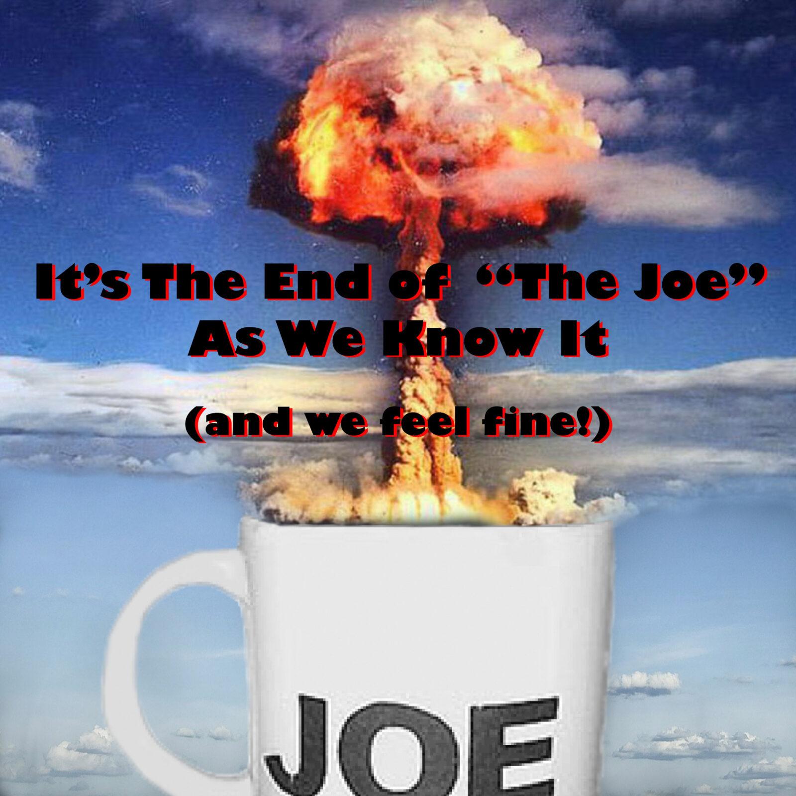 Explosion in Regular Joe Mug