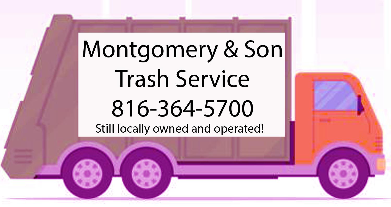 Montgomery & Son Trash Truck