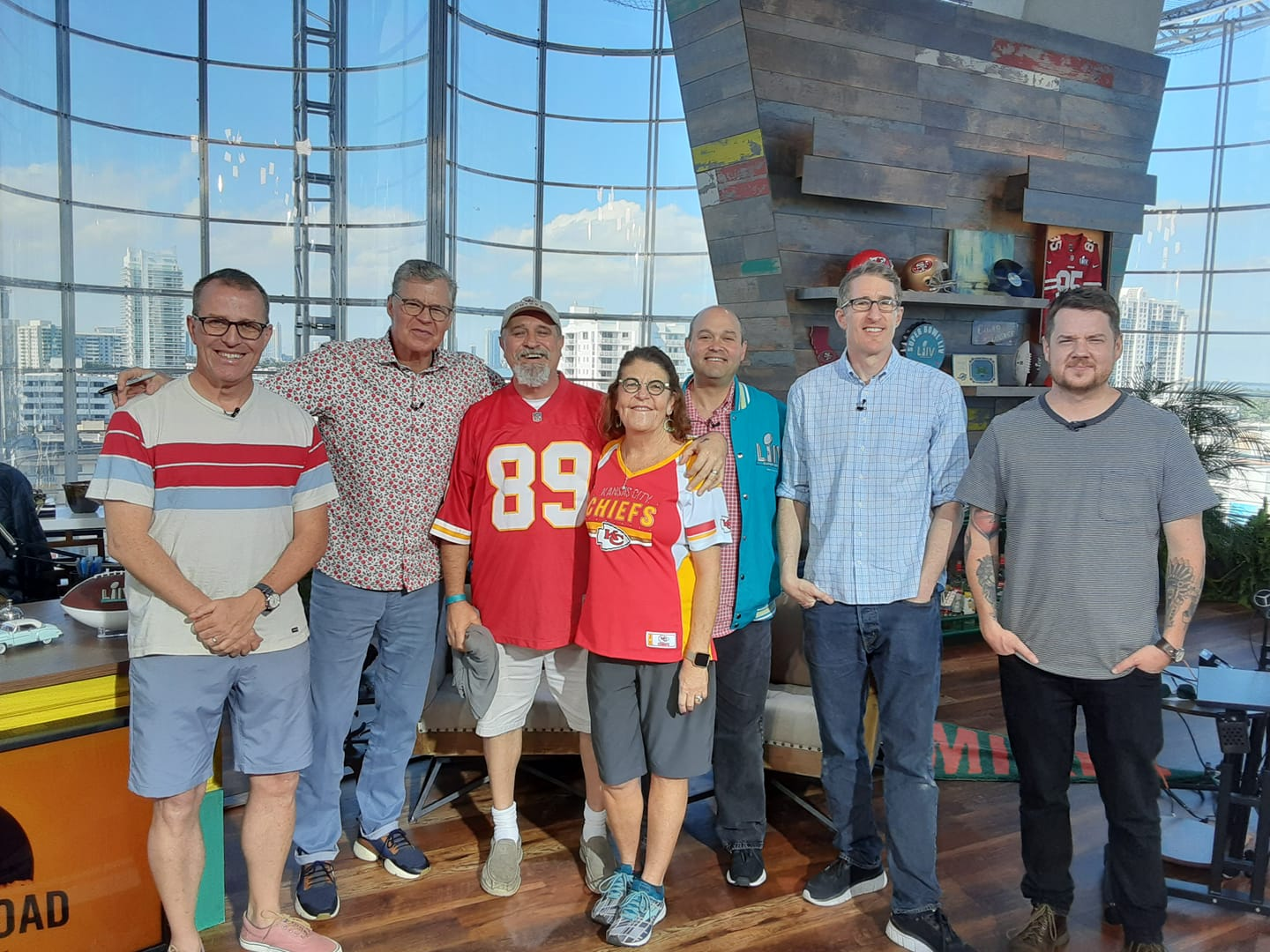 Group Shot from Dan Patrick Show in Miami