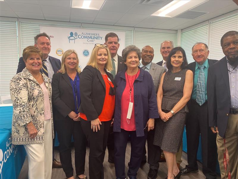 Mark Shalloway Attends Alzheimer Community Care Session with U.S. Secretary of Labor Marty Walsh
