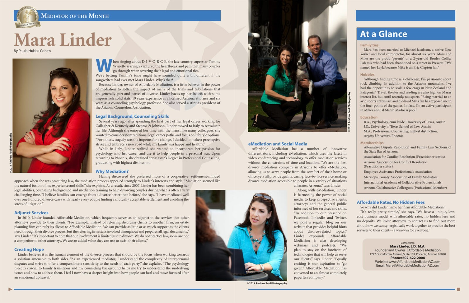 Article Image, Mediator of the Month