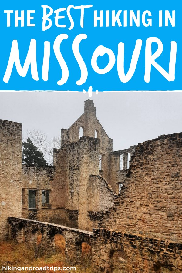 Hiking in Missouri: 5 supreme spots for the perfect Missouri day hike. Where to hike in Missouri. Best Hiking in Missouri. Missouri state parks. #hikinginmissouri