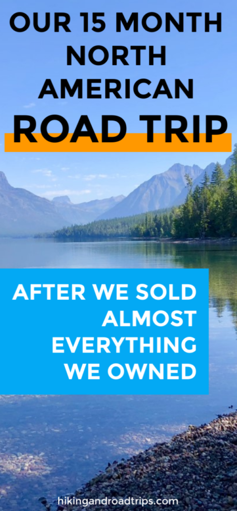 We sold almost everything we own and took a 15 month north american road trip #roadtrip #rvlife #rvliving #vanlife #northamerica #traveltips #sellyourstuff