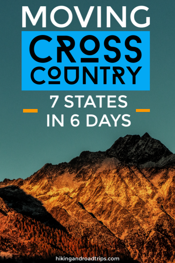 Moving cross country with 2 cats, 1 dog and a plant from California to Texas, hitting 7 states in 6 days #roadtrip #traveltips #roadtriptips #westcoast #grandcanyon