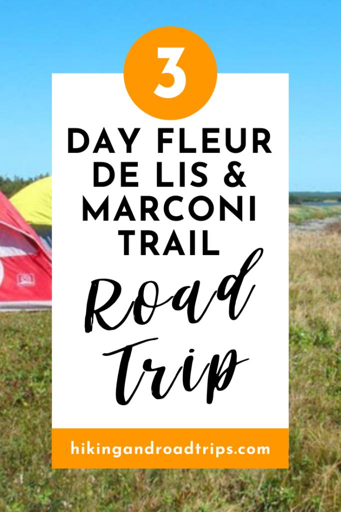 The ultimate 3 day road trip in Cape Breton, Nova Scotia exploring Fleur De Lis and Marconi Trail #canadaroadtrip #roadtrips #canadatrip #novascotiaroadtrip #novascotiatravel #canadatravel