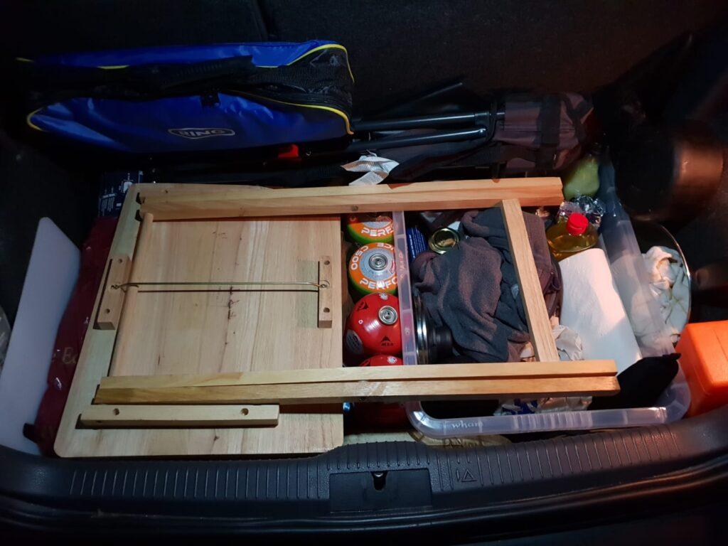 car life trunk setup