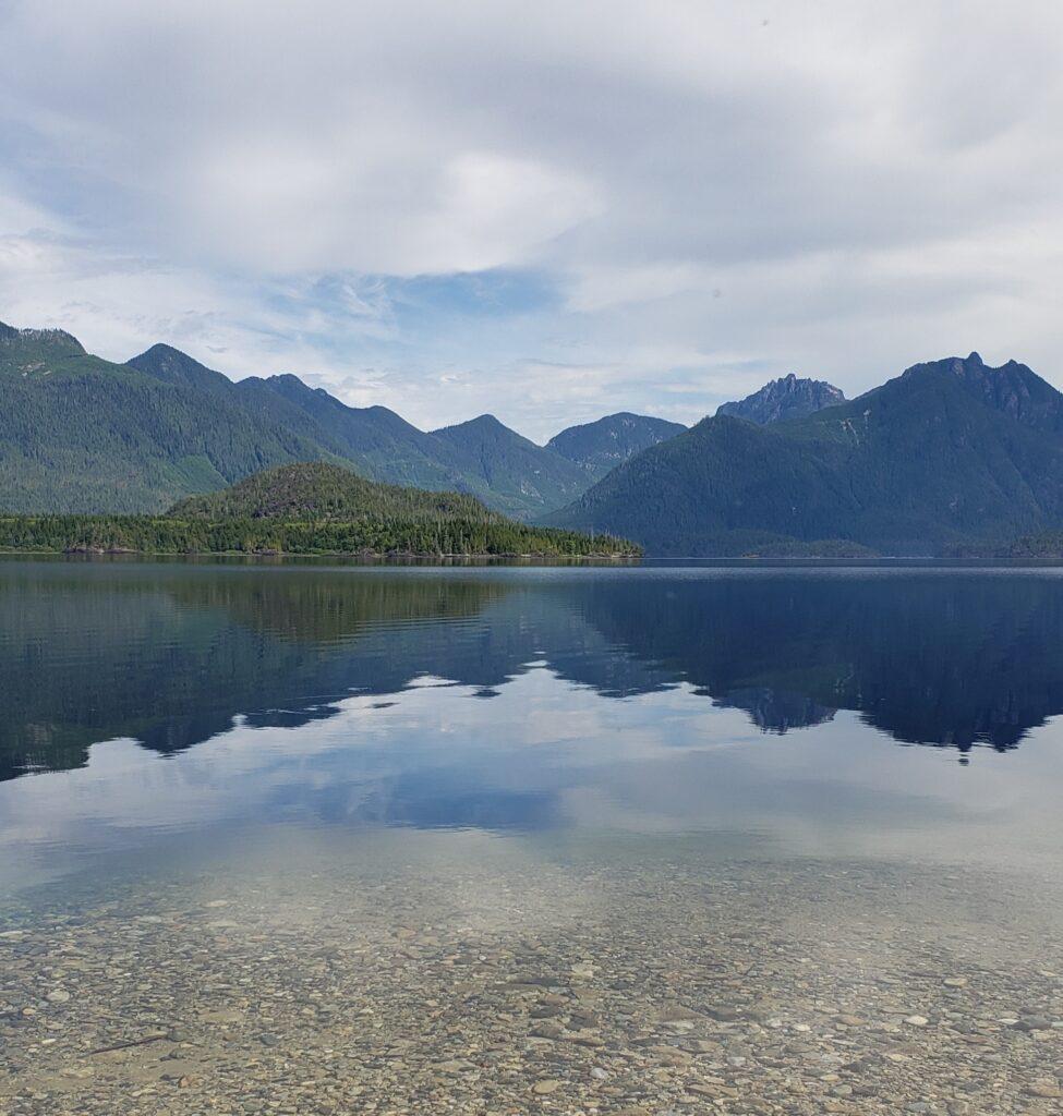 Cameron Lake on Vancouver Island, BC