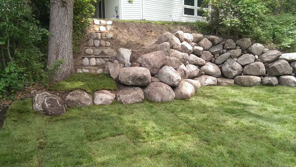boulder wall project