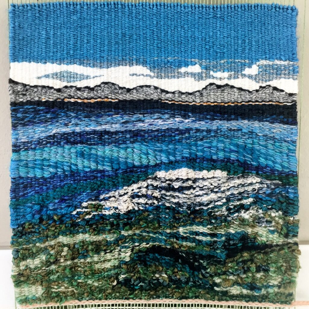 tapestry of Yellowstone Lake