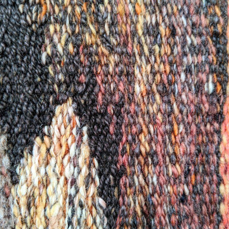 Progress on 'Mount Buffalo B' Tapestry