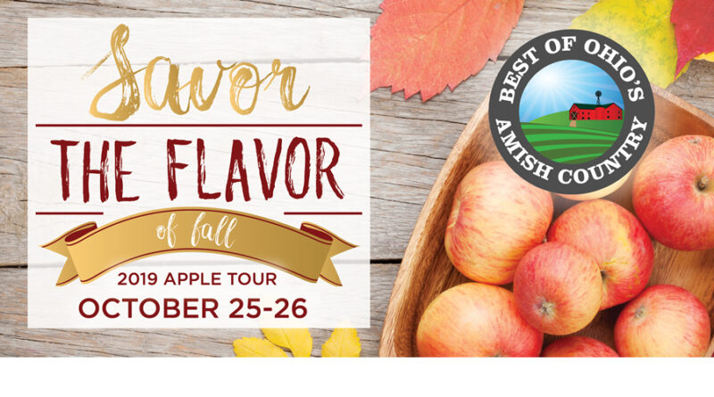 New 'Apple Tour' Celebrates Amish Country's Fall Flavors – For A Great Cause